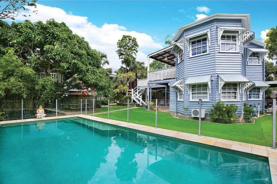 Queenslander home in Parry Street, Bulimba
