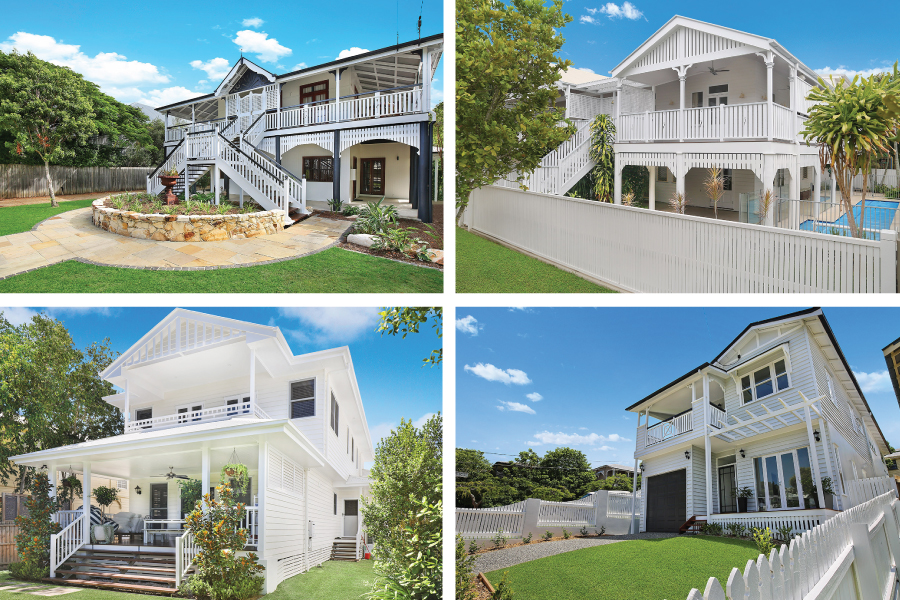 Queenslander homes in Hawthorne, Brisbane